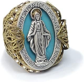 Best vintage miraculous medal ring Reviews