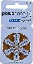 Piles auditives Power One P 312 (0% mercure) par 10 plaquettes