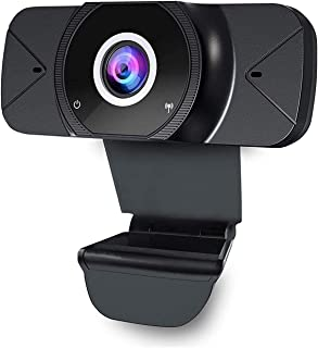 Lolo Webcam 1080P Camara Web con Microfono, USB 2.0 2K Full