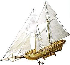 Maqueta De Madera Escala 1/130 Kit De Velero Harvey Ship Puzzle para Niños Y Adultos - Harvey Ship