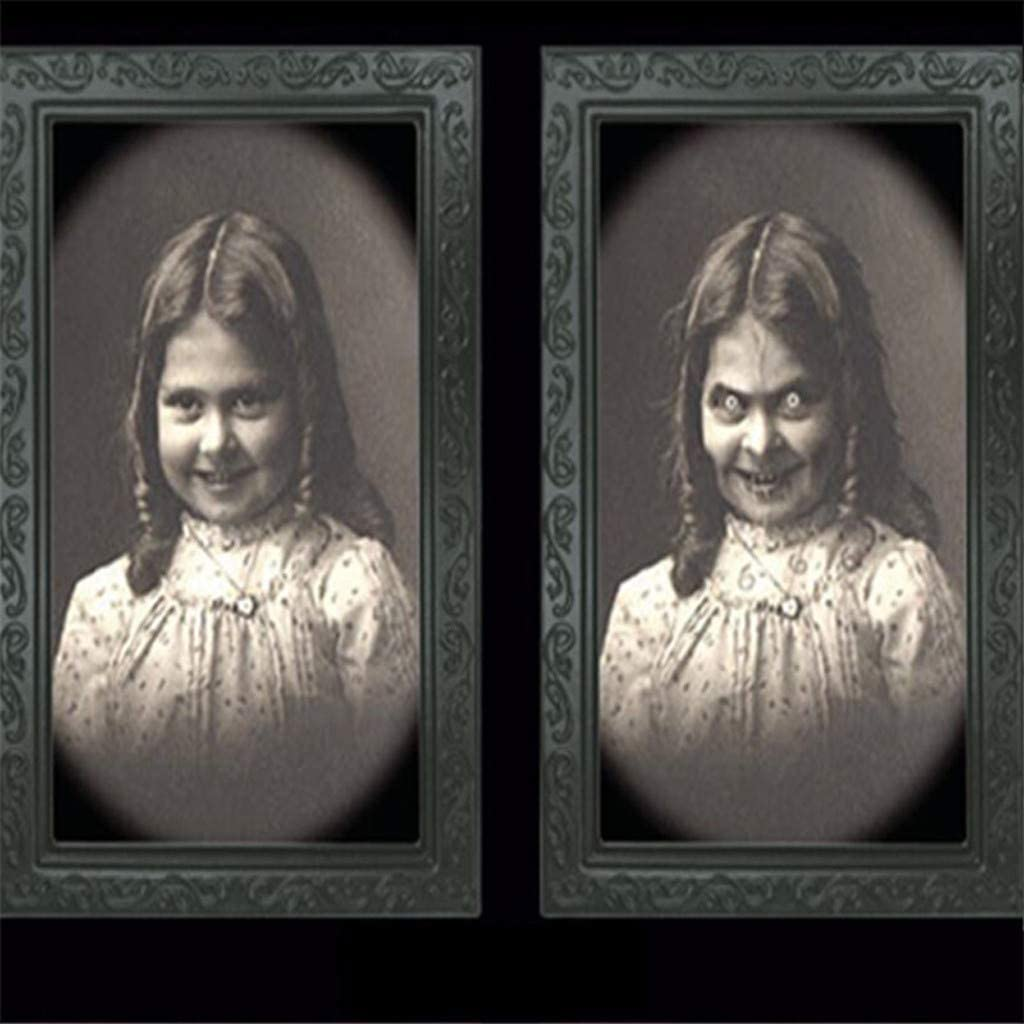 Ghosts Halloween Picture Frame
