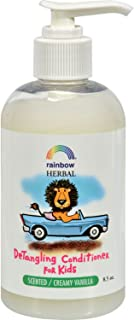 Rainbow Research Organic Herbal Detangling Conditioner For Kids Creamy Vanilla - 8.5 fl oz