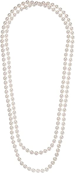 Majorica - 1 Row 8mm Endless Rope Necklace
