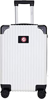 NCAA Two-Tone Premium Carry-On Hardcase Luggage Spinner