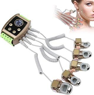Máquina de masaje de meridianos de calentamiento de RF bioeléctrico, máquina de terapia de estiramiento facial de raspado corporal EMS para cuello