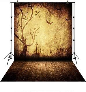 Hintergrund mit Ground für Halloween Pary Home Oder Studio Kids Bilder Vinyl Kunststoff Kostengünstige Hintergrund für Rollenspiele Dekoration