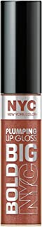 N.Y.C. New York Color Big Bold Plumping and Shine Lip Gloss, Extra Large Latte, 0.39 Fluid Ounce