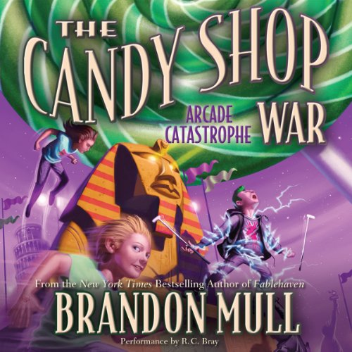 The Candy Shop War, Book 2: Arcade Catastrophe audiobook cover art