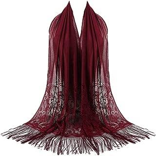 Clearance Chiffon Scarf DEATU Women Fashion Tassel Shawl Ladies Long Wraps Shawl Hot Sale