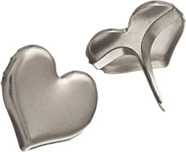 Best silver heart embellishments for cards Reviews