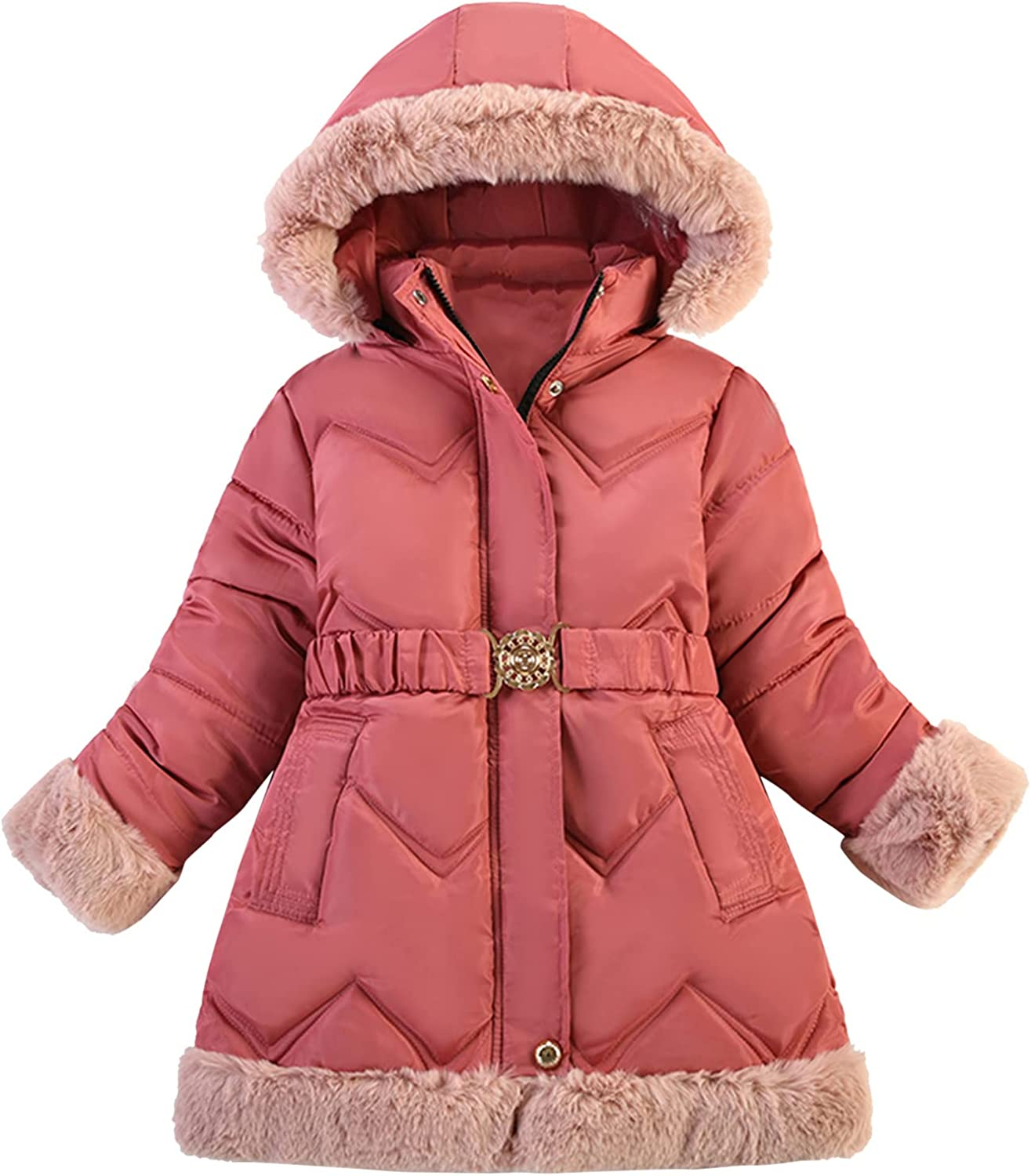 Forver Toddler Kids Puffer Down Padded Coat Winter Jacket Coat Boy Jacket Warm Hooded Clothes Casual Puffer Overcoat Clothes