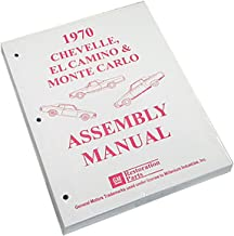 Inline Tube (I-2-10) Factory Assembly Manual For 1970 Chevrolet Chevelle, El Camino and Monte Carlo