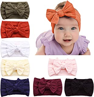 Baby Girl Nylon Headbands,Newborn Infant Toddler...