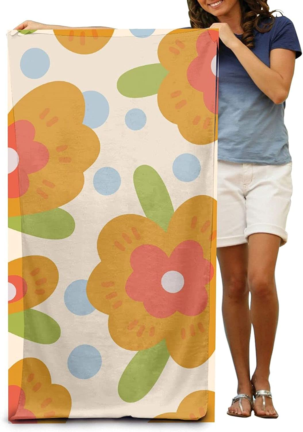 NINAINAI Super Opening large release sale Soft Luxury Bath To 5 ☆ popular Flowers Towel Absorbent