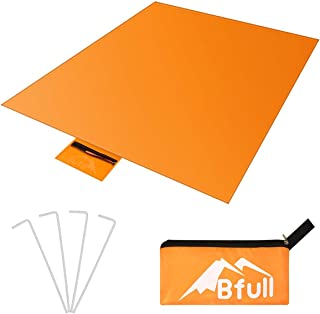 """BFULL Blanket Park Blanket Extra Large Beach Mat for Water-Resistant Layer Outdoor Picnics for Family,Concerts,Beach,Park(71"""" x 57"""")"""