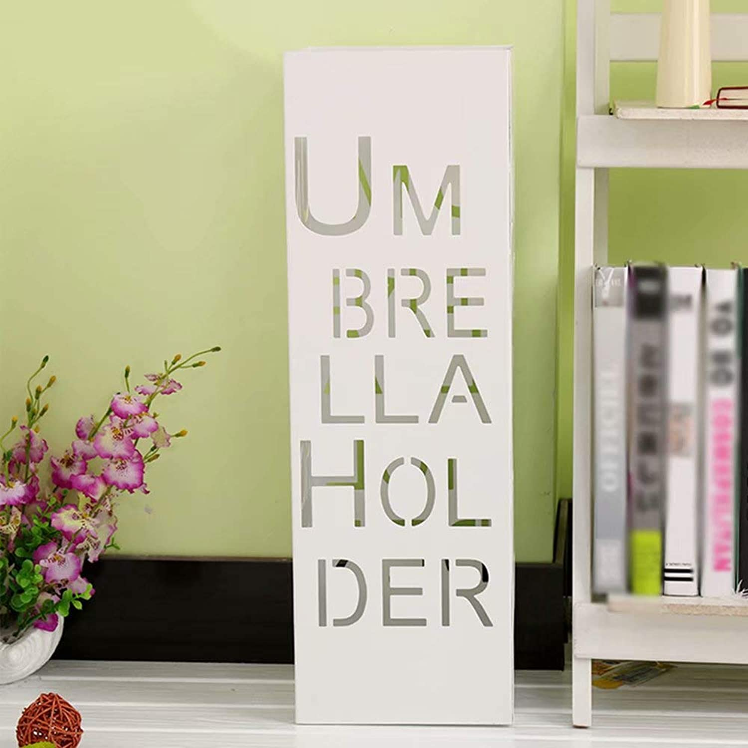 Umbrella Stand Holder Square Hooks for Home and Office, Metal