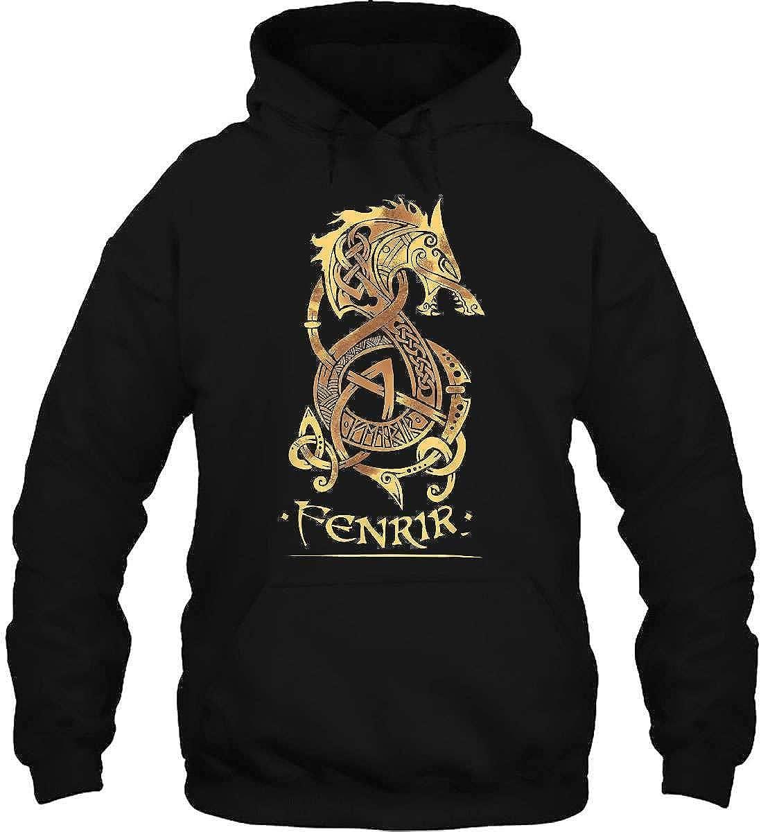 Fenrir Shirt Wolf of Odin Norse Nordic Viking Fenrir T-Shir