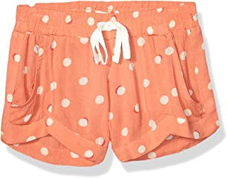 BILLABONG Girls Mad for You Short Casual Shorts - Orange