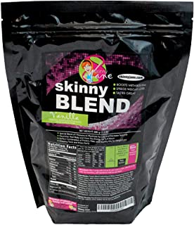 Sale! - Best Tasting Protein Shake for Women - Delicious Smoothie - Weight Loss - Low Carb - Diet Supplement - Weight Control - Appetite Suppressant - Energy - 30 Shakes/Bag (Vanilla) Skinny Blend