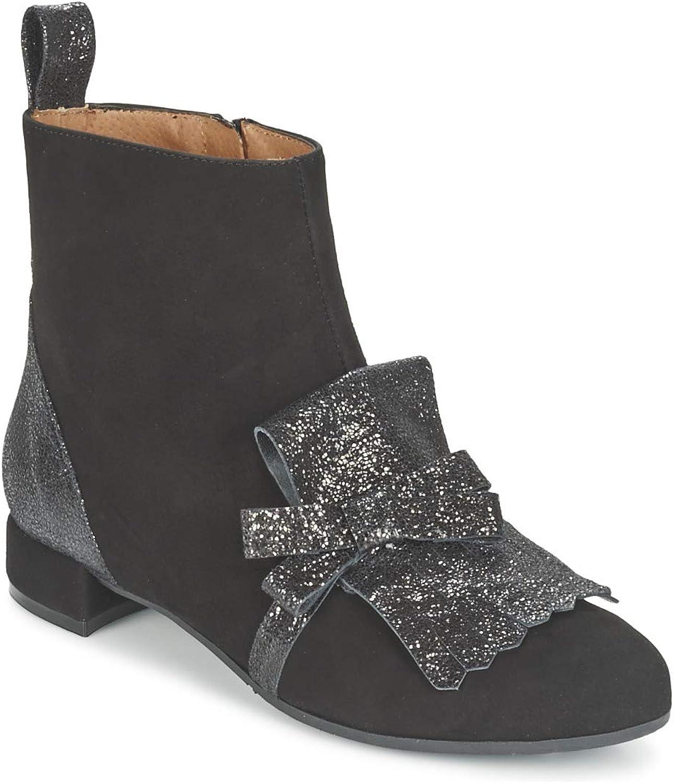 Fericelli FADETTE Stiefelletten Stiefel Damen Schwarz Stiefel