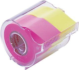 ヤマト 付箋 メモック ロールテープ カッター付き 25mm×10m NORK-25CH-6A