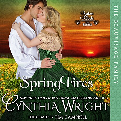Spring Fires audiobook cover art