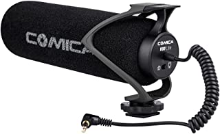 Comica CVM-V30 LITE Video Microphone Super-Cardioid Condenser On-Camera Shotgun Microphone for Canon Nikon Sony Panasonic ...