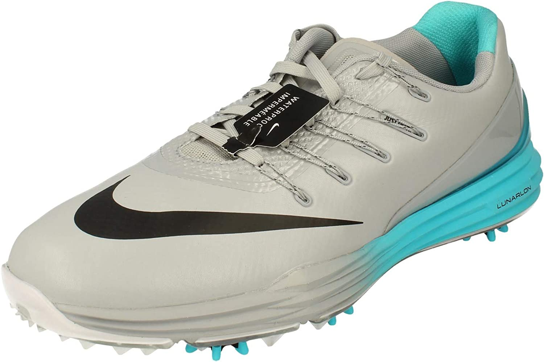 Días laborables equipo hierro  Amazon.com | Nike Men's Lunar Control 4 Golf Shoe, Wolf Grey/Black Beta  Blue/White, 9 M US | Golf