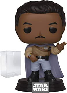 Star Wars: Return of The Jedi - General Lando Calrissian Funko Pop! Vinyl Bobble-Head Figure (Includes Compatible Pop Box ...