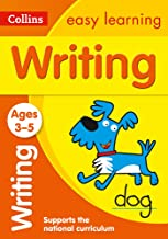 Writing Ages 3-5: Prepare for Preschool with Easy Home Learning