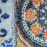 Teppichläufer Bonita | Patchwork Muster im Vintage Look | viele Größen | moderner Teppich Läufer für Flur, Küche, Schlafzimmer | Niederflor Flurläufer, Küchenläufer | Breite 80 cm x Länge 150 cm - 5