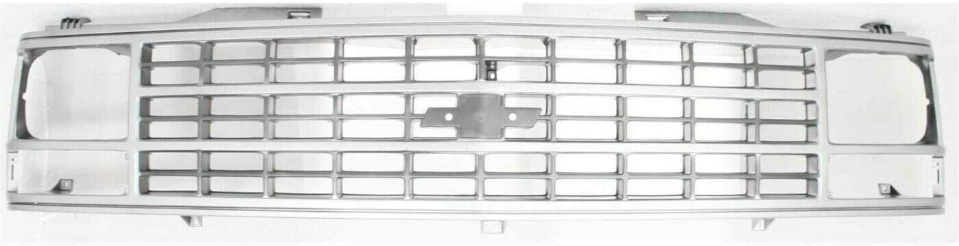 OLINDA Radiator Grille 5% OFF Silver Compatible with M Pickup Chevrolet supreme