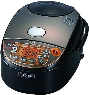 象印 IH炊飯器 極め炊き 黒まる厚釜 ブラウン 5.5合 NP-VJ10-TA