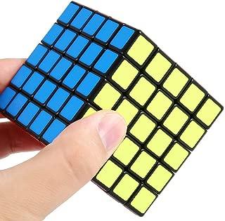 Shengshou 5x5x5 Speed Cube Smooth Sticker 5x5 Magic Cube Toys Puzzle Twist 64mm Black