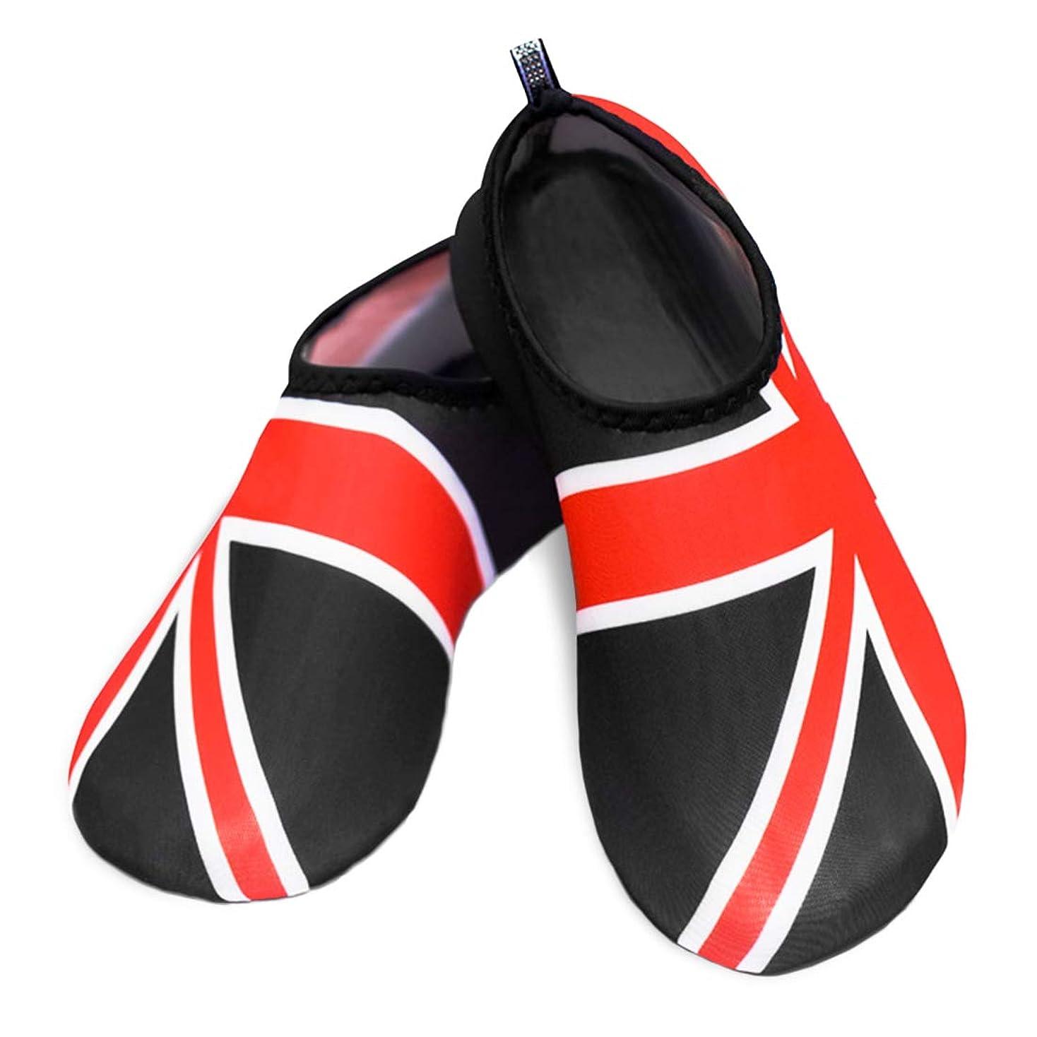 スリッパ比類なき仲良し[Kalevel] ビーチ シューズ サンダル マリン 靴 水陸両用 ヨガ 折りたたみ シューズ ウォーター シュノーケリング シューズ 通気性 柔らかい 靴 アクアシューズ レディース メンズ兼用 軽量 速乾 シューズ