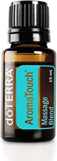 doTERRA - AromaTouch Essential Oil Massage Blend - Promotes Comfort and Relaxation, Helps to Lessen Tension, Adds Aromatic Experience to Soothing Massage; for Topical Use - 15 mL