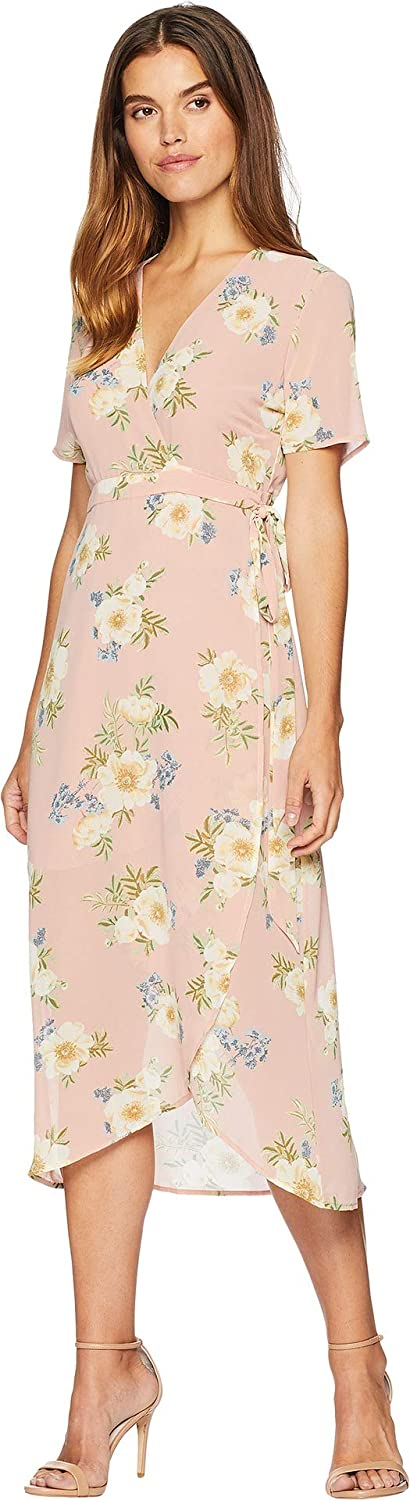 Bardot Womens Floral Wrap Dress