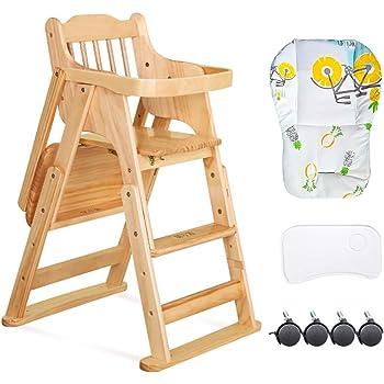 East Coast Folding Highchair (White): Amazon.co.uk: Baby