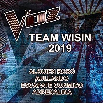 La Voz Team Wisin 2019 (La Voz US)