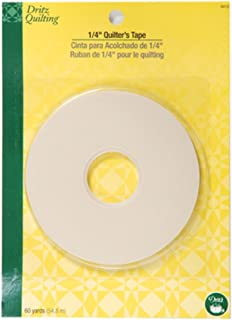 Dritz 3412 Quilter's Tape, 1/4-Inch x 60-Yards