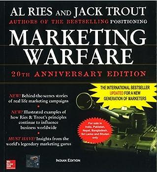Paperback Marketing Warfare, 20th Anniversary Edition Book