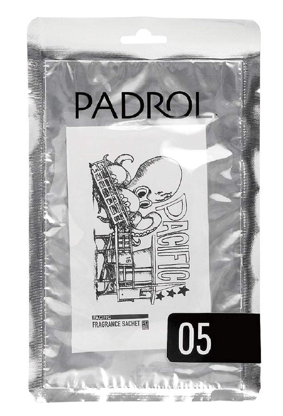 芝生不安ファウルノルコーポレーション サシェ ハンガー 吊り下げ PADROL PACIFIC(パドロール パシフィック) スウィートムスクの香り PAD-4-05
