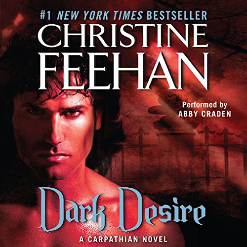 Dark Desire audiobook cover art