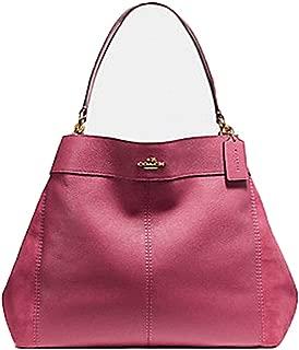 LARGE LEXY SHOULDER BAG (COACH F27833) Light Gold Rouge