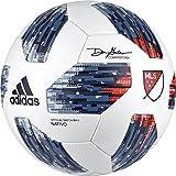 adidas 18 MLS Omb Soccer Ball 5 White/Blue