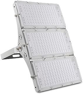 Viugreum 300W LED Flood Light, 24000LM 6000K Daylight White, 1500W Halogen Equivalent, Super Bright Slim Outdoor Work Lights IP66 Waterproof Security Floodlight for Garage, Garden, Lawn, Yard
