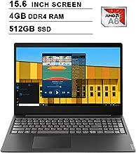 2019 Newest Lenovo Premium IdeaPad S145 15.6 Inch Laptop (AMD A6-9225 up to 3.1GHz, 4GB DDR4 RAM, 512GB SSD, AMD Radeon R4, WiFi, Bluetooth, HDMI, Webcam, Windows 10) (Black)