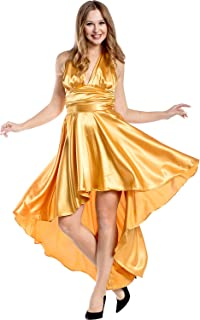 Charades womens Charmeuse Disco Dress Adult Sized Costumes (pack of 1)