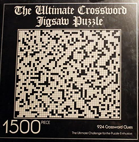1500 Piece - Ultimate Crossword Jigsaw Puzzle (1983) by APC