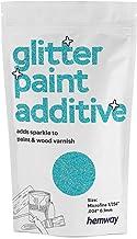 "Hemway | Glitter Paint ADDITIVE (MICROFINE 1/256"" .4"" 0.1mm) 100g -Baby Blauw"